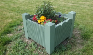 Small planter-box
