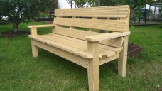 three seater bench