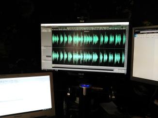 Sound editing.